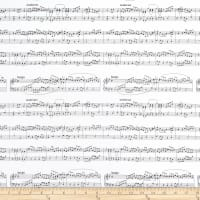 Whistler Studios Opus  Sheet Music White