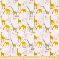 Whistler Studios Stand Tall Baby Giraffes Pink