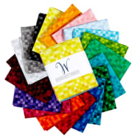 Whistler Studios Gemstones Fat Quarters 20 Pcs Multi
