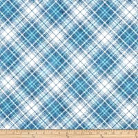 Whistler Studios Gina Diagonal Plaid Washed