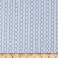 Windham Colonial Williamsburg Serpentine Stripe Light Blue