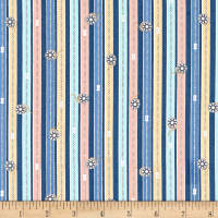 Windham Crafters Gonna Craft Whistler Zipper Stripe Navy