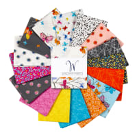 Windham Kaleidoscope Whistler Fat Quarters Multi 16 pcs