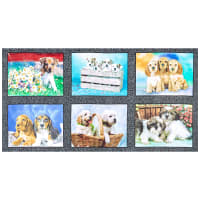 Windham Somebody To Love Whistler Puppies Panel Multi