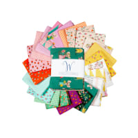 Windham Trixie  Heather Ross Fat Quarters Multi