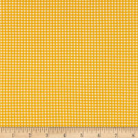 Heather Ross Gingham Gold