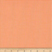 Heather Ross Gingham Tangerine