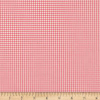 Heather Ross Gingham Pink