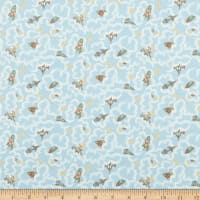 Liberty Fabrics Adventures In The Sky Rocket Dance Blue
