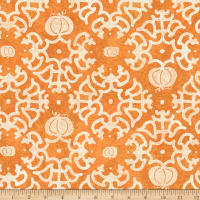 Susan Winget Halloween Labryinth Eco Canvas Orange