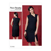 Vogue V1593 Misses' Dress Pattern A5 (Sizes 6-14)