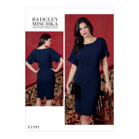 Vogue V1595 Misses' Dress Pattern E5 (Sizes 14-22)