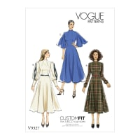Vogue V9327 Misses' Dress Pattern E5 (Sizes 14-22)