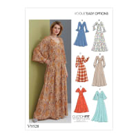 Vogue V9328 Misses' Dress Pattern E5 (Sizes 14-22)