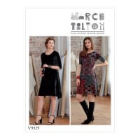 Vogue V9329 Misses' Dress Pattern ZZ (Sizes L-XXL)