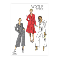 Vogue V9336 Misses' Sportswear Pattern A5 (Sizes 6-14)