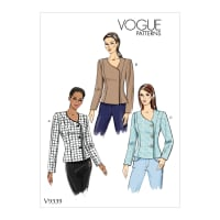 Vogue V9339 Misses' Jacket Pattern (A5 (Sizes 6-14)