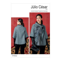 Vogue V9341 Misses' Jacket Pattern Y (Sizes XS-M)