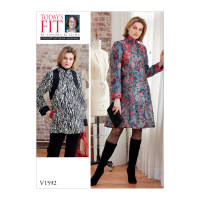 Vogue V1592 Misses' Dress Pattern OSZ (One Size)