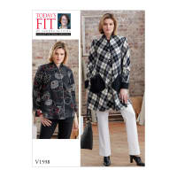 Vogue V1598 Misses' Outerwear Pattern OSZ (One Size)