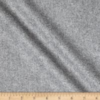80% Wool/20% Nylon Flannel Grey