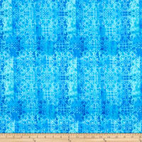 Paintbrush Studio Fabrics Croatia Spanish Tile Blue