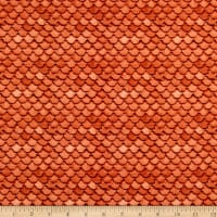 Paintbrush Studio Fabrics Croatia Villa Roof Orange