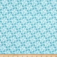 Paintbrush Studio Fabrics Gulls Just Wanna Have Fun Tonal  & Tidal Aqua