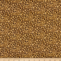 Paintbrush Studio Fabrics Menagerie Stumped Brown