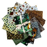 Paintbrush Studio Fabrics Menagerie Fat Quarters Multicolored