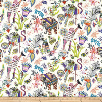 Paintbrush Studio Fabrics Ubuntu Wild Encounter Cream Olive