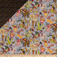 Paintbrush Studio Fabrics Ubuntu Pre-Quilted Multicolored