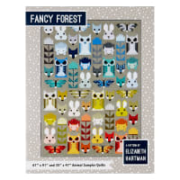 "Kaufman Fancy Forest 67"" x 91"" Quilt Kit"