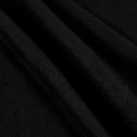 Yukon Fleece Black (Bolt, 12 Yards)