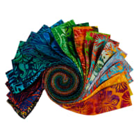 Kaufman Roll Ups Artisan Batiks Totally Tropical
