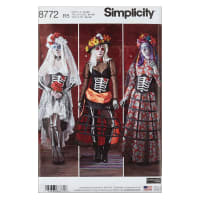Simplicity  8772 Misses' Costumes R5 (Sizes 14-22)