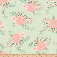 Pink and Green Quilting Fabric | Shop Online at fabric com