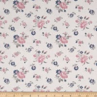 Penny Rose Majestic Toss White