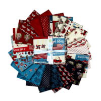 Celebrate America Fat Quarter Bundle, 21 Pcs.