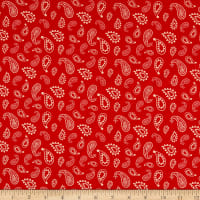 Cowboy Country Bandana Red