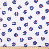 Designer Flannel NASA Main White