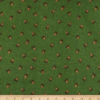 Penny Rose Pinewood Acres Flannel Pinecones Green
