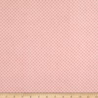 Riley Blake Kisses Flannel Baby Pink