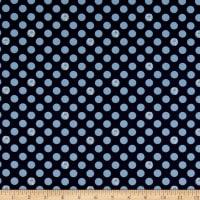 Fox Farm Dots Navy
