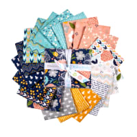 Riley Blake Azure Skies Fat Quarter Bundle 21 Pcs