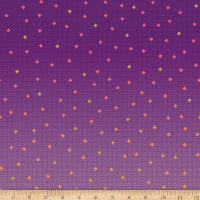 Riley Blake Gemstones Multi Color Lilac
