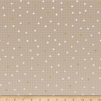 Riley Blake Gemstones Neutral Color Caramel