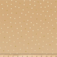 Riley Blake Gemstones Neutral Color Gold