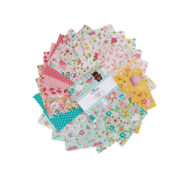 "Riley Blake Sweet Baby Girl 5"" Stackers  42 Pcs."