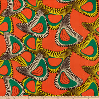Shawn Pahwa African Print DTY Brushed Nduduzo Orange/Yellow